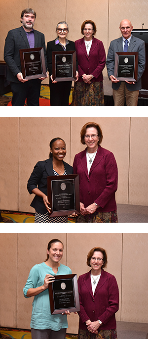 Six Faculty Members Honored at Annual Faculty Awards Banquet