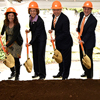 University Celebrates Mossman Building Groundbreaking